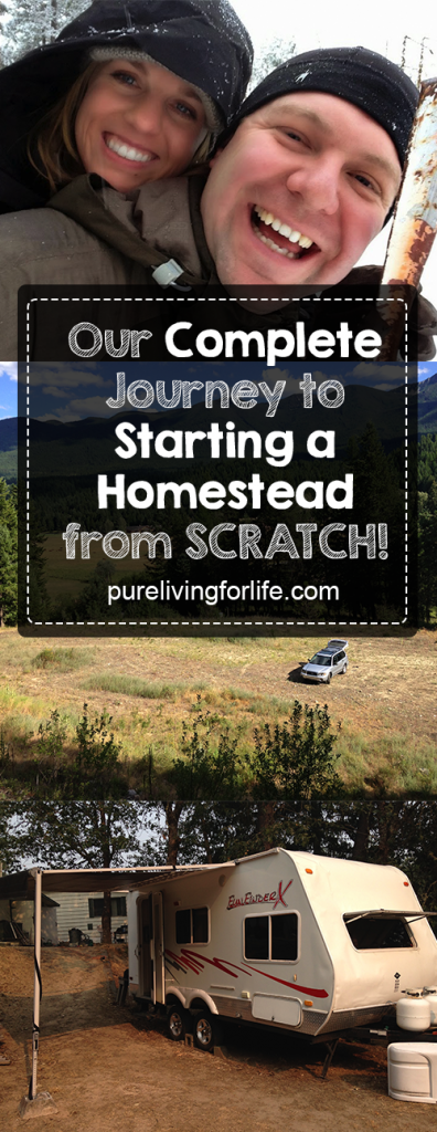 Our Complete Guide to Starting a Homestead from SCRATCH! From buying land to building our home and living off of our land. | purelivingforlife.com #homesteading #preparedness #modernhomesteading #survival #farming #selfsufficiency #sustainability