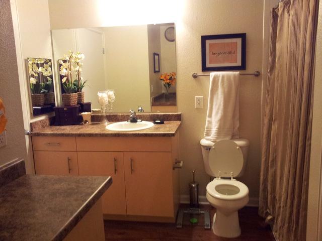 Declutter the Bathroom | Purelivingforlife.com