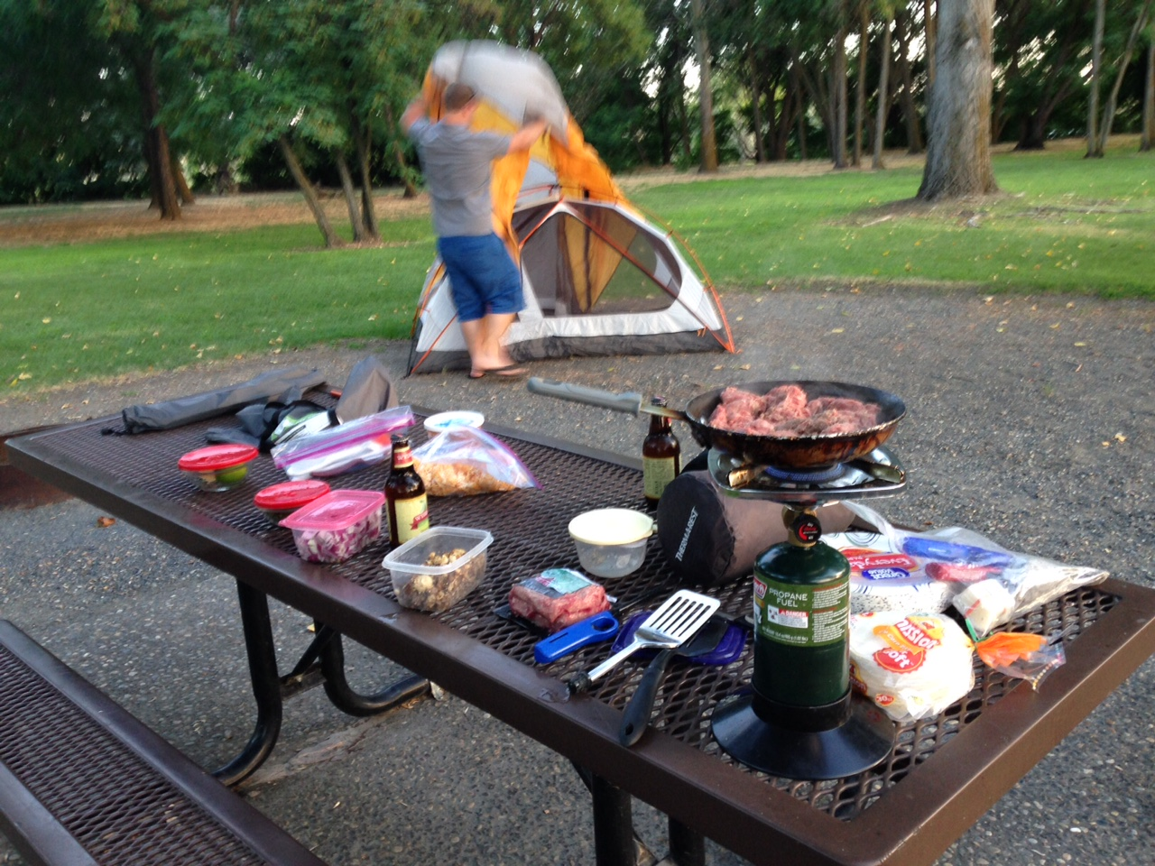 Healthy Camping Food Ideas: How We Eat When Camping - Pure Living for Life