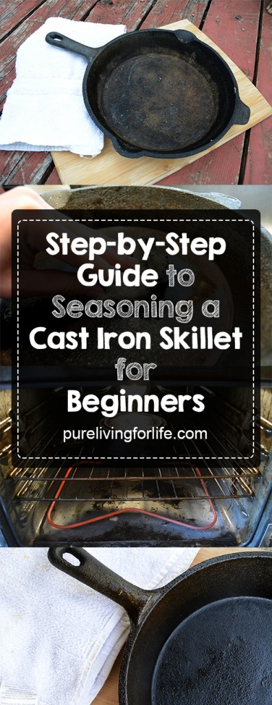 how to clean iron skillet after cooking bacon