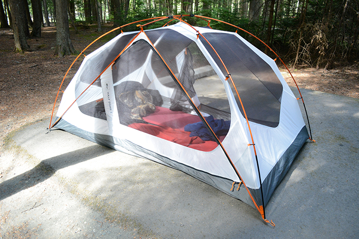 An example of affiliate marketing: We bought this tend and have been genuinely loving it. We could do a review of it, link to it from our blog, and if someone buys the tent then we could get a small commission.