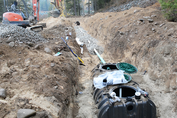Diy septic system for cabin diy projects for Cabin septic systems