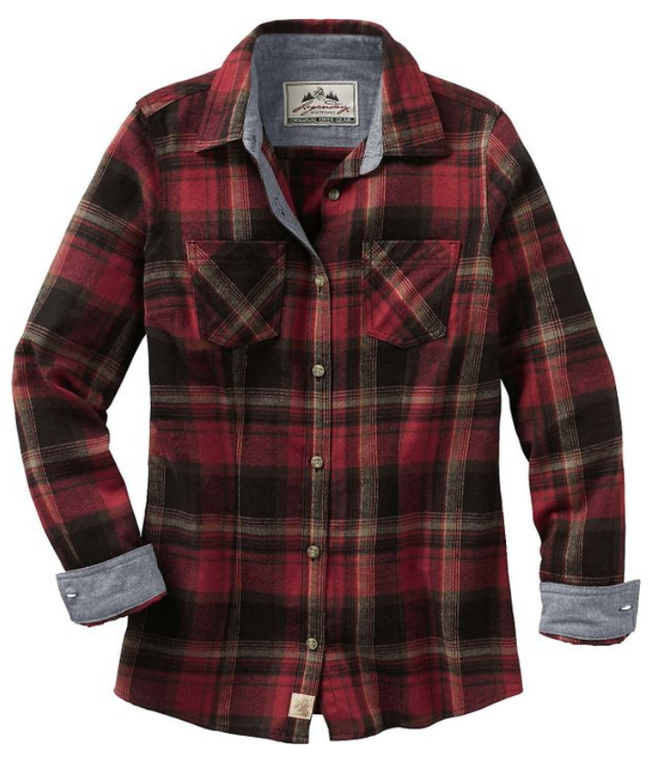 flannel shirt for dressing warm in winter weather