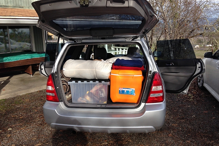 We loaded up the Subaru once again, to make the drive to Idaho one last time, in hopes of finding land.