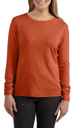 warm clothes for winter - long sleeve carhartt