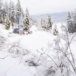 Winter Tips for Living off the Grid (While in a Travel Trailer)