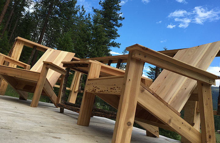 adirondack chair scrap wood projects