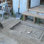 Getting Started with Concrete Projects: Our Door Step Slab