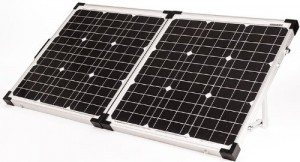 80 watt portable solar panel kit for rv