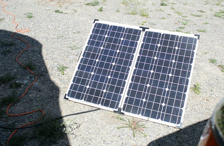 solar panels for travel trailer living