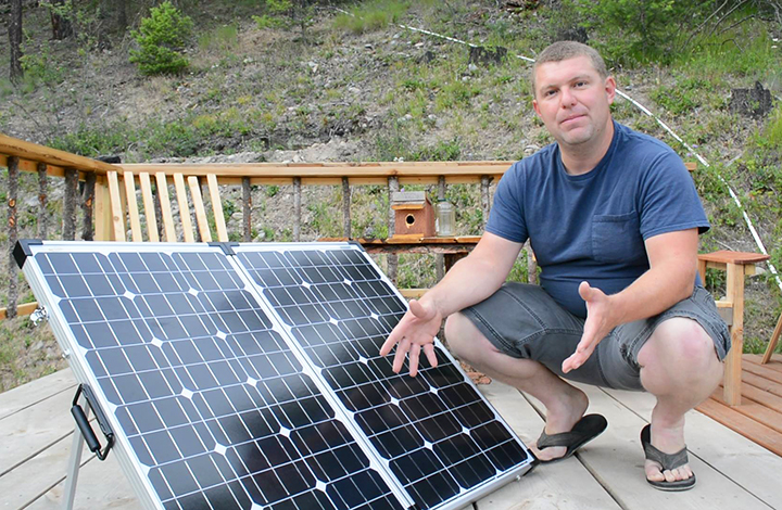 Stupid-Easy Portable Solar Panels for RV, Off Grid