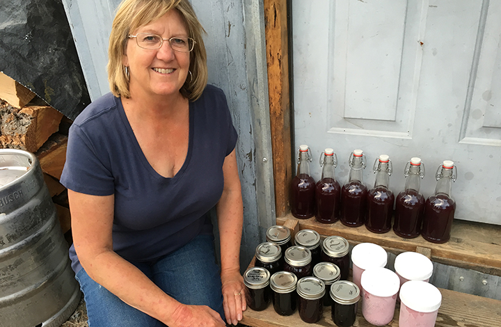 My mom had fun playing homesteading by canning elderberry stuff and making elderberry ice cream!