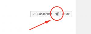 """Képtalálat a következőre: """"youtube notification bell"""""""