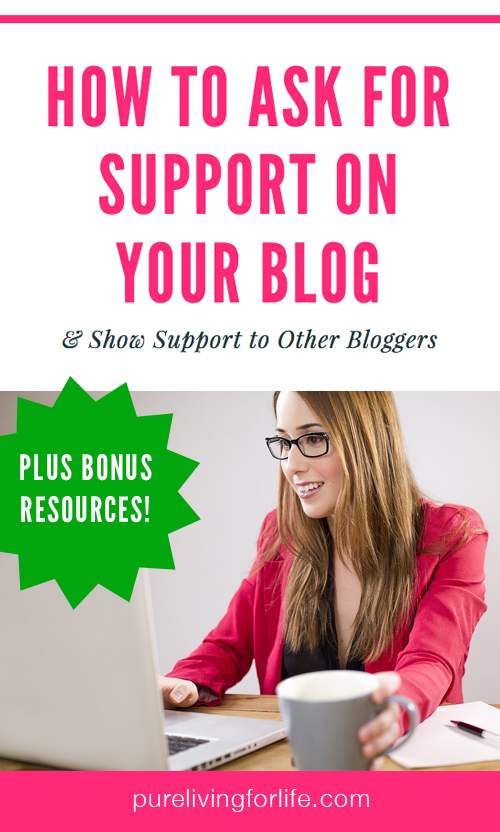 Creative ways to ask your viewers to support your blog - that really do help, but don't involve asking for money! Plus bonus ideas to implement that you may have never thought of before!