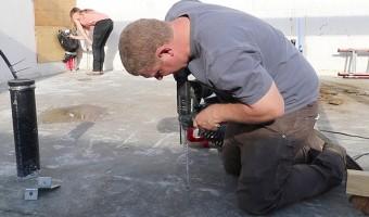 drilling-into-concrete