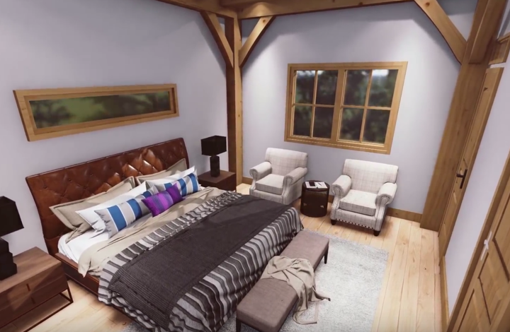 timber-frame-bedroom