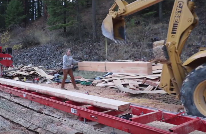 best portable sawmill for timbers