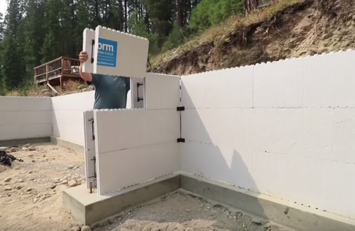 Icf construction full home build experience for Insulated concrete masonry units