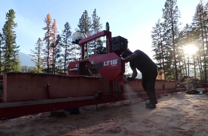 woodmizer portable sawmill